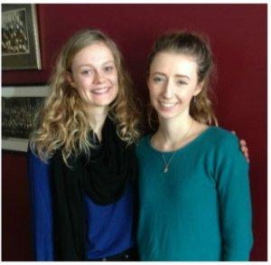 Rachel Brain and Maia Stevenson.