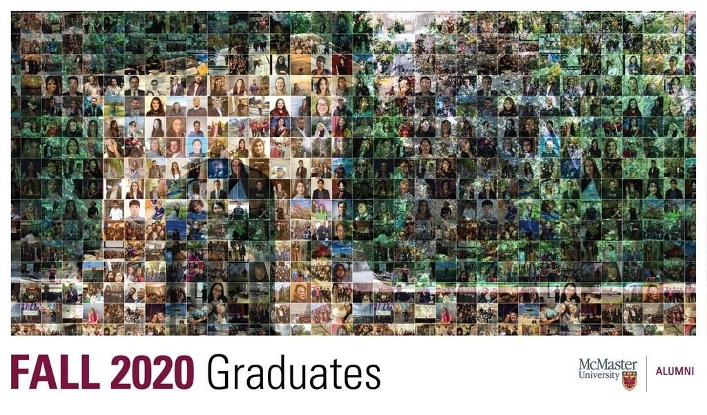 Fall 2020 grad photo collage